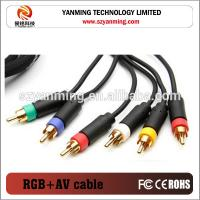 av cable for ps3 how to connect