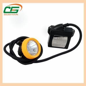 China 15000lux 6.6ah Li-Ion Battery Waterproof Led Industry Corded Mining Cap Lamp wholesale