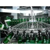 China Fully Automatic Glass Bottle Beer Bottle Filling Machine With 1000BPH-24000BPH wholesale