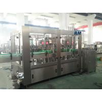 China Automatic Bottle Filling Machine Durable For Juice / Milk Bottling on sale