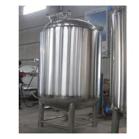 China Semi-Automatic Stainless Steel Hot Water Storage Tanks 2MM Thickness wholesale