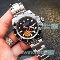 Buy cheap Rolex Submariner Stainless Steel Jubilee Band Black Dial Black Bezel Men's Rolex from wholesalers