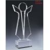 China Polishing Weatherability Clear Silk - Screen Custom Acrylic Award, Trophy For Business Gift wholesale