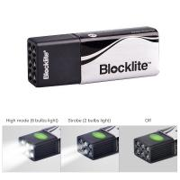Buy cheap Handheld Powerful LED Light Mini Size Luminous Flux 20Lm With Flash Alarm Mode from wholesalers