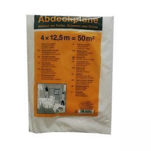 China Transparent HDPE Plastic Film 4 X 5m Surface Protection Paint Dust Cover wholesale