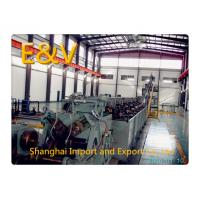 China 650kW Green 8mm Low - Oxygen Copper Continuous Casting Machine 15 tons/hr wholesale