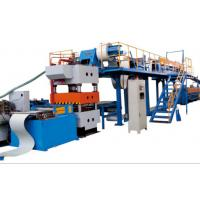 Buy cheap Custom PU Sandwich Panel Production Line 40mm - 250mm Thickness EPS Sandwich Panels from wholesalers