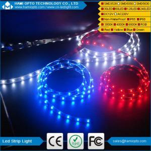 China SMD3528 120Leds RGB Led Flexible Strip Light 12V 5M wholesale