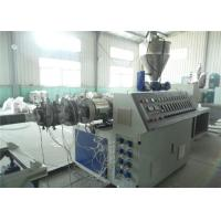 Buy cheap PE Pipe Extrusion Line , PE Double Wall Corrugated Pipe Production Line from wholesalers