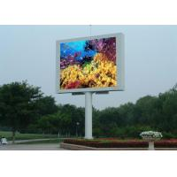 China 10000dots / sqm LED Video Billboards Easy Maintain LED Outdoor Advertising Board wholesale