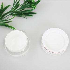 China OEM 30g 50g Acrylic Plastic Cosmetic Cream Jars With Screw Cap wholesale