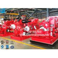 Buy cheap Horizontal Single Stage Double Suction Diesel Engine Fire Pump Set With UL Listed NFPA 20 Standard from wholesalers