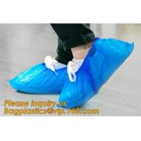 China custom waterproof SMS pp non woven medical surgical use Polypropylene Disposable Shoe Cover non skid anti skid bagease on sale