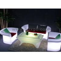 Wireless Remote Control event sofa LED sofa set For Smart Nightclub
