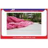 China Multi Color Lambs Wool Jacquard Weave Fabric / Lambs Wool Cloth Material wholesale