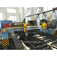 China Precision CNC Flame Plasma Cutting Machine 4000mm Track Gauge With Hypertherm CNC System wholesale