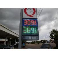 """China Gas Stations Digital LED Moving Message Display , LED Oil Price Sign 8'' 10"""" 12"""" 16"""" 18"""" 20"""" 24"""" wholesale"""