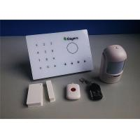 China Smart Wireless Intruder Alarm Phone Monitoring with GSM Intercom on sale