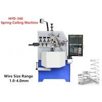 China Steel 4.0mm Spring Coiling Machine High Effective For Oil Seal Springs wholesale