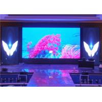 Buy cheap High Contrast SMD2121 Stage Background Led Screen , Indoor LED Displays from wholesalers