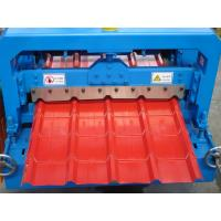 China Electric R Panel Metal Roll Forming Equipment , Roll Form Machines For Roof , Wall wholesale