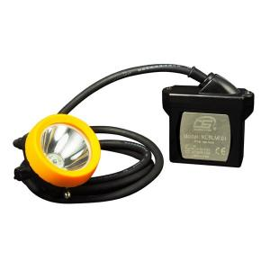 China Waterproof Led Mining Cap Lamp Atex  15000lux , 7.8Ah Miners Helmet wholesale