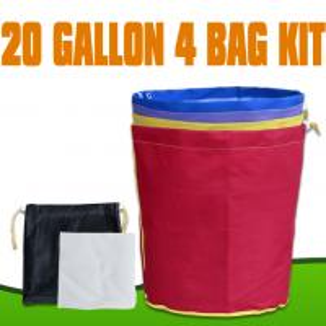 China Bubble bag 20Gallon 4bags kit 600D hash wholesale