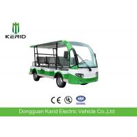 Buy cheap AC Motor 72V Mini 7.5KW Electric Sightseeing Car Max Loading 8 Persons Low Speed from wholesalers