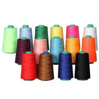 High Tenacity Spun Polyester Sewing Thread , Multi Colored Threads For Sewing