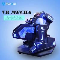 China One Player Mecha Style Arcade Game Machine With Leather Motion Seat / 9D Virtual Reality Cinema wholesale