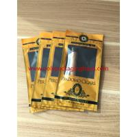 Buy cheap European And American Cigar Moisturizing Plastic Zipper Bags With Humidified from wholesalers
