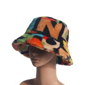 China High Quality Winter Soft Fabric Sublimation Print Logo Customization Color Logo Bucket Fisherman Hat wholesale