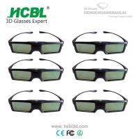 China Universal Active 3D Eyewear BT 3D Shutter Glasses For Sharp / Changhong / Skyworth / Konka wholesale