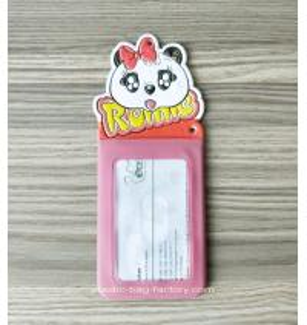 China Lovely Cartoon Theme ID Name Badge Holder ID Badge Holder Name Badge Ideal for Theme Park Amusement Park wholesale