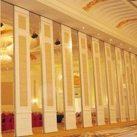 China 6m Height Sound Proof Partitions Room Divider Basement Mdf Partition Wall For Banquet on sale