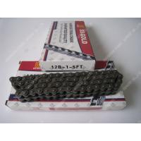 China Single Roller Chain 12B-1-5FT 80Links 1.85KG 40MN Material , Duplex Roller Chain wholesale