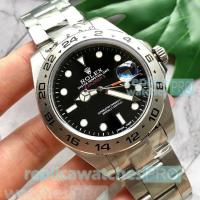 China Rolex Explorer II Replica Watch Black Dial Stainless Steel wholesale
