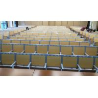 China College Furniture School Fixed Table And Chair / Lecture Hall Ladder Classroom Desk wholesale