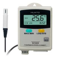 Warehouse Temperature And Humidity Data Logger : Elegant appearance temperature and humidity data logger