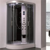 China 5mm Gray Tempered Glass Shower Cubicle , Stand Alone Shower Enclosures wholesale