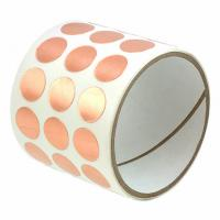 China Die Cutting Copper Foil EMI RFI Shielding Tape With Conductive Adhesives wholesale