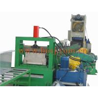 China Auto Galvanized Perforated Steel Cable Tray Cold Roll Forming Machine Thickness 1.2-2.0mm wholesale