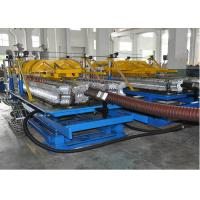 China PE / PP Single Layer Spiral Pipe Extrusion Line , SBG63-250 Spiral Pipe Making Machine wholesale