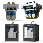 China 350W Gross Power Digital 3d Printer High Precision 3d Printer 400 * 300 * 520 Mm wholesale