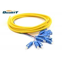 Buy cheap Multimode Fiber Optic Pigtail For Room Equipment Internal Link from wholesalers