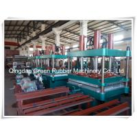 China Rubber Machinery Rubber Floor Tile Making Machine wholesale