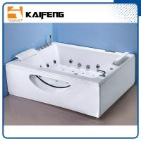 China T Shape Inlet Electric Jacuzzi Whirlpool Bath Tub With Air Bubble Water Jets wholesale
