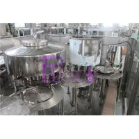 China Non - Carbonated Drink Automatic Filling Machine 1200bph Rotary 3 In 1 wholesale