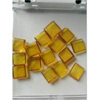 China Yellow Large Synthetic Diamond For Metal Processing:Cast Iron Disc Grinding wholesale