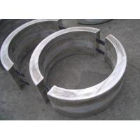 Buy cheap Pipelines Zinc Bracelet Anodes With underground / under mud / under seawater from wholesalers
